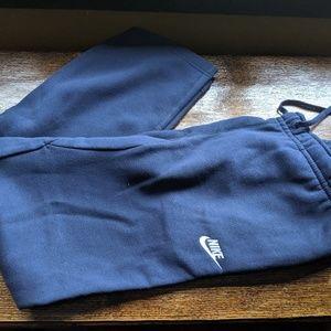Men's Nike Club Fleece Sweatpants Blue size L